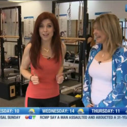 Pilates Manitoba on CTV News Mon Nov 7, 2016