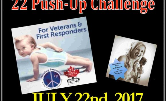 22 Push-Up Challenge Month!